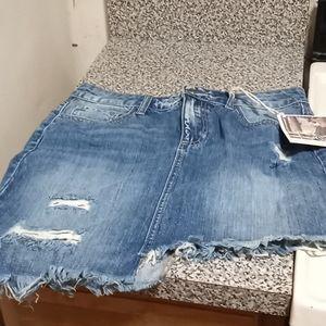 Pello Jean skirt